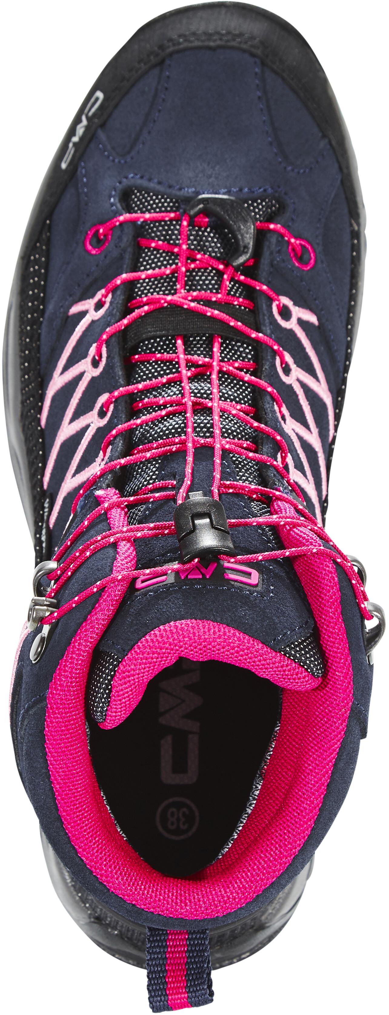 4782c4db151f18 CMP Campagnolo Rigel Mid WP Schoenen Kinderen roze/blauw l Outdoor ...